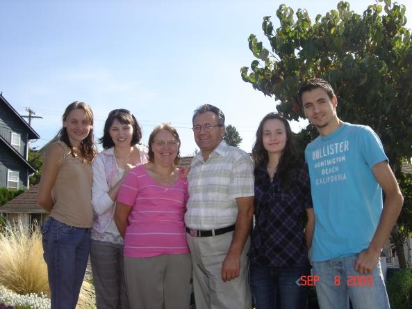 Vadim Popovici, împreună cu familia