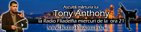 Tony Anthony în România
