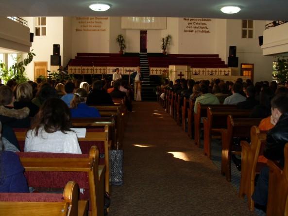 """Asta e Biserica noastră """"Isus Salvatorul"""""""
