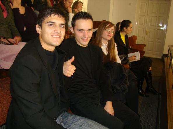 Maxim Antoniuc şi Marcu Şuparschi - Ungheni.