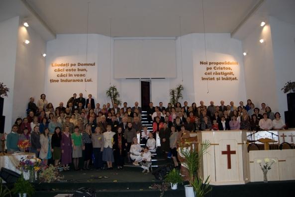 Poza comună, toţi participanţii la conferinţă