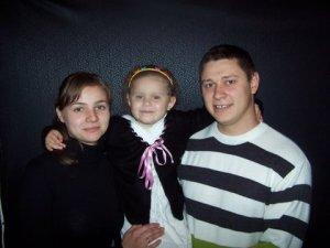 Familia Untilă, Natalia, Dinuta şi Dima