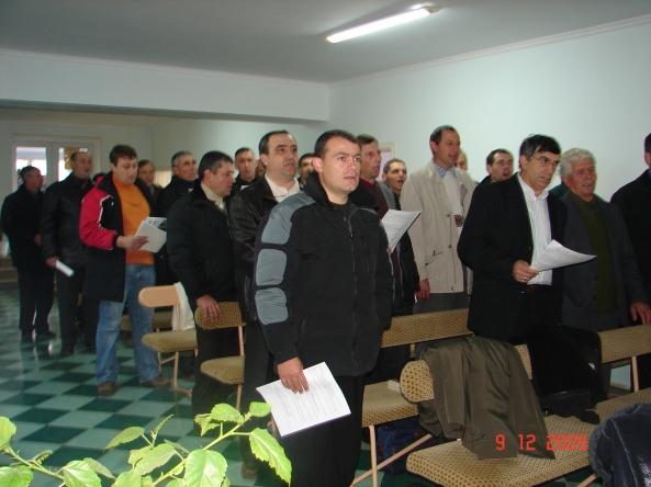 Pastorii din Buceag în închinare