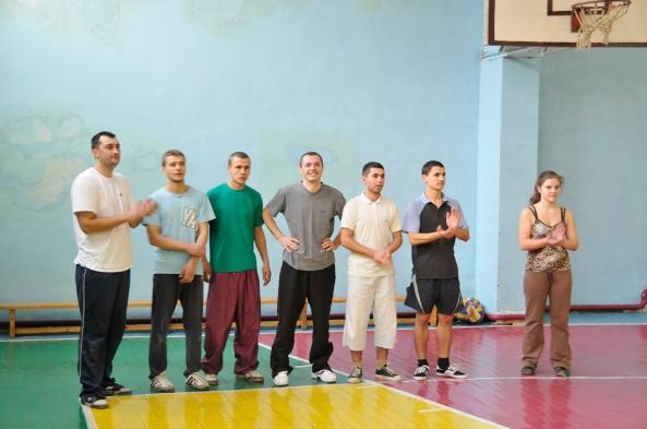"Echipa Bisericii ""Golgota"" din Chişinău."