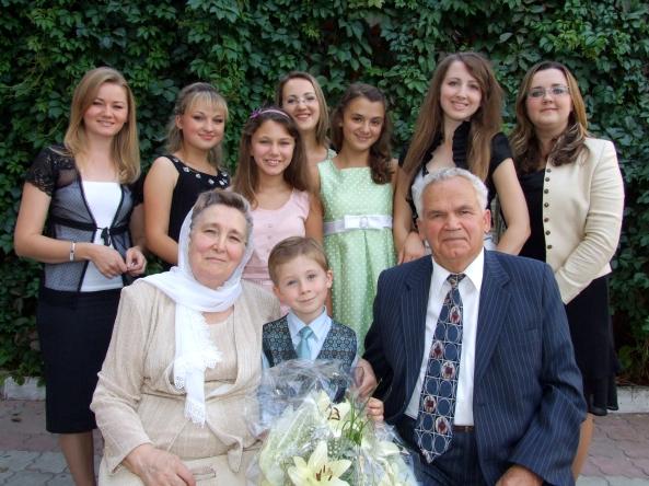 La nunta de aur, cu nepoţii