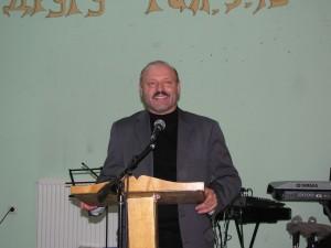 preşedintele federaţiei europene baptiste, Valeriu Ghileţchi