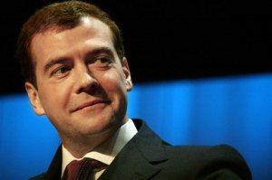 Preşedintele Federaţiei Ruse, Dmitri Medvedev